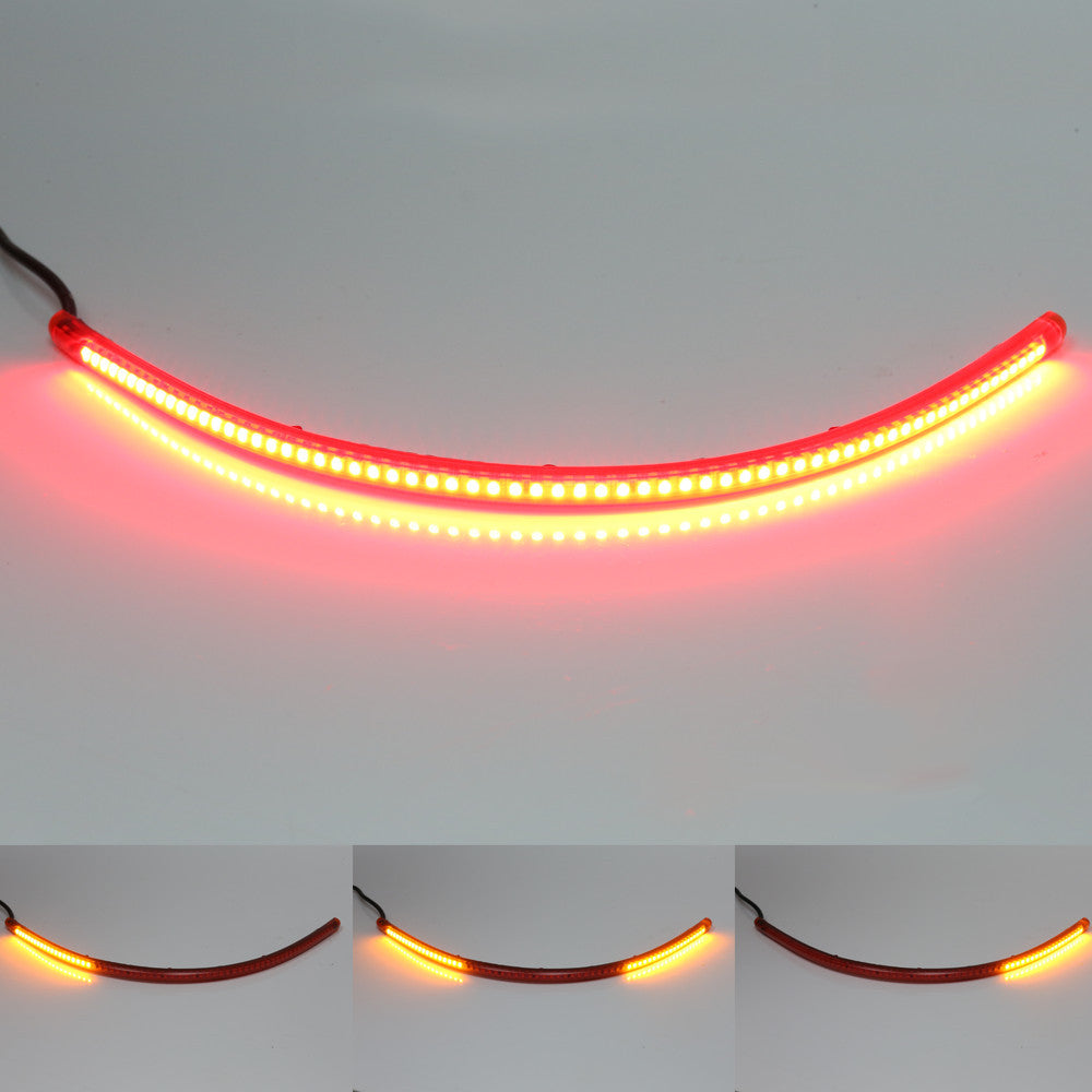 40cm AMP-Z Rear LED Turn Signal Brake Light Strip - MC Motoparts