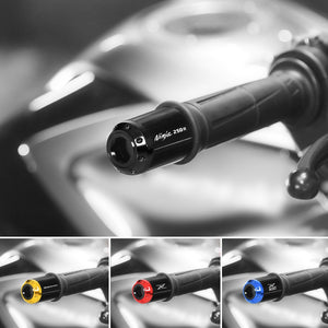 Fit Kawasaki Z900RS 2018-2019 Engraved Logo ATOM Bar Ends - MC Motoparts