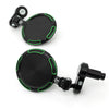 Fit Kawasaki Folding Round Sonic CNC Bar End Mirrors - MC Motoparts