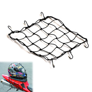 15'' Heavy Duty Cargo Net Mesh Net with 4 POM Hooks - MC Motoparts