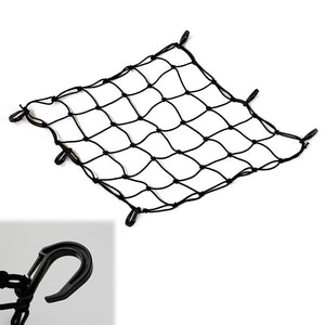 18'' Heavy Duty Cargo Net Mesh Net with 6 POM Hooks - MC Motoparts