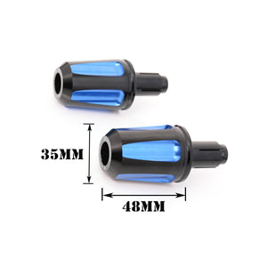 Fit Suzuki SV650 SV1000 GSX-R 750 1000 GSX650F FAIZ Bar Ends - MC Motoparts