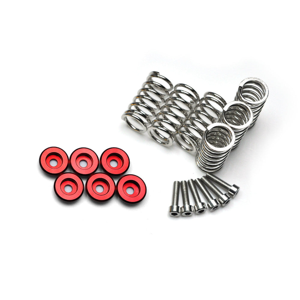 Fit Ducati Dry Clutch Stainless Steel Spring Collar Cap Set - MC Motoparts