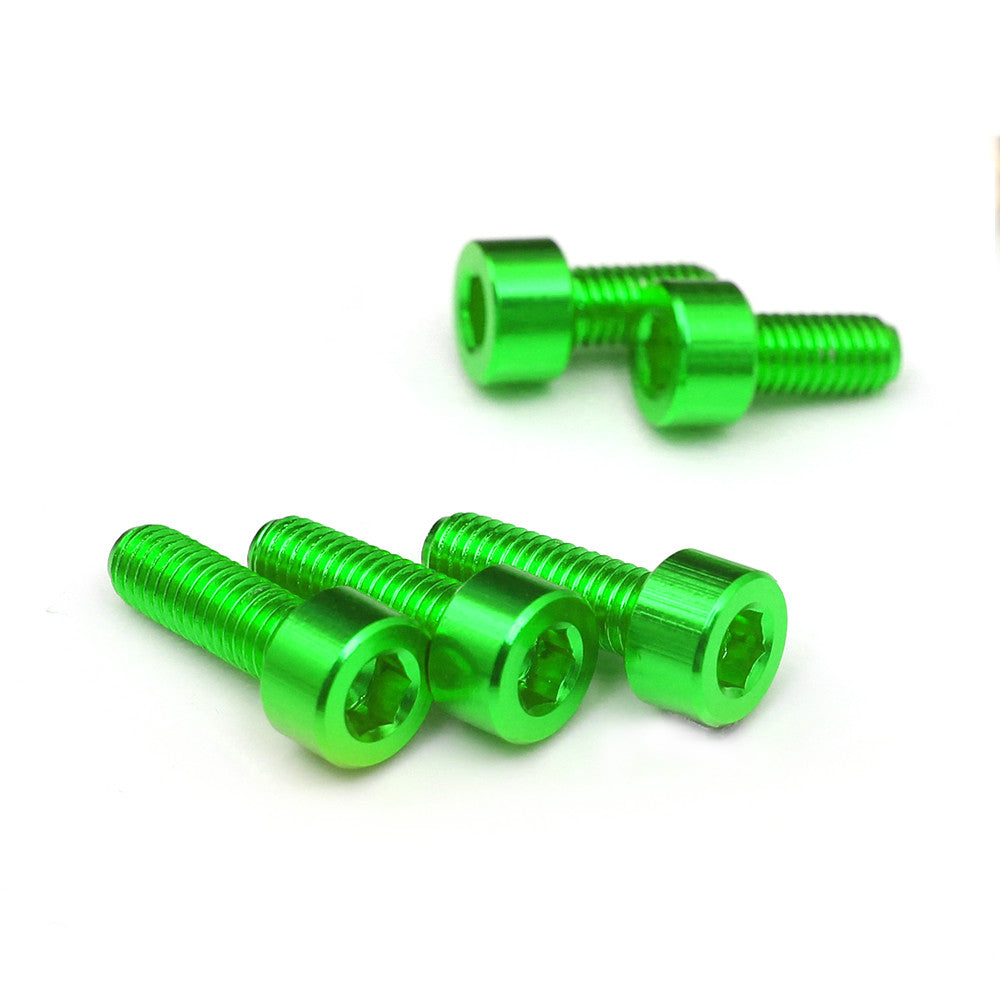 Fit Kawasaki 7 Colors CNC Fuel Cap Bolts - MC Motoparts