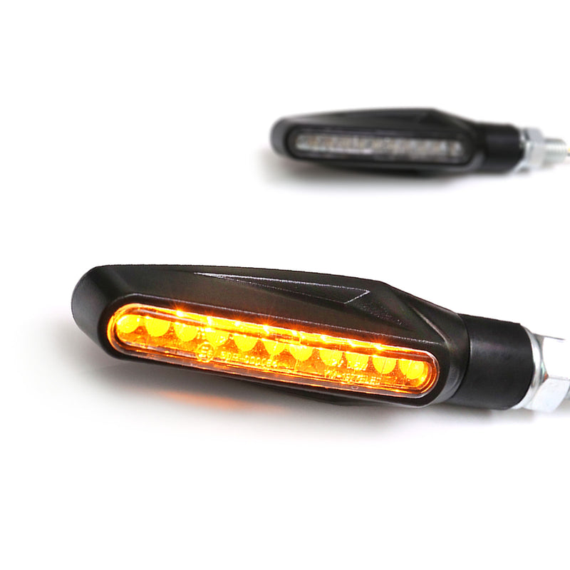 SLINE LED Front & Tail Amber Turn Signal Light - MC Motoparts