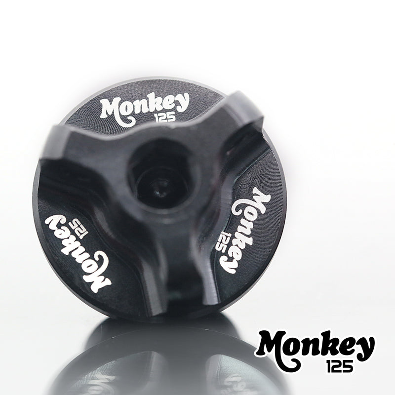 Fit Honda Monkey 125 Z125M Z125MA 2018-2020 Logo Engraved Oil Filler Cap - MC Motoparts