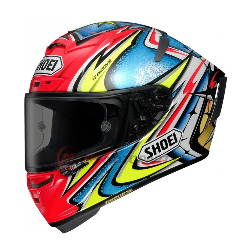 Fit Shoei X-14 X-Fourteen Daijiro Full Face Helmet Pinlock Helmet Visor - MC Motoparts