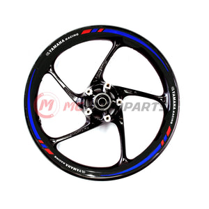 Fit Yamaha Racing 17'' Wheel Rim Reflective Decal Stickers - MC Motoparts