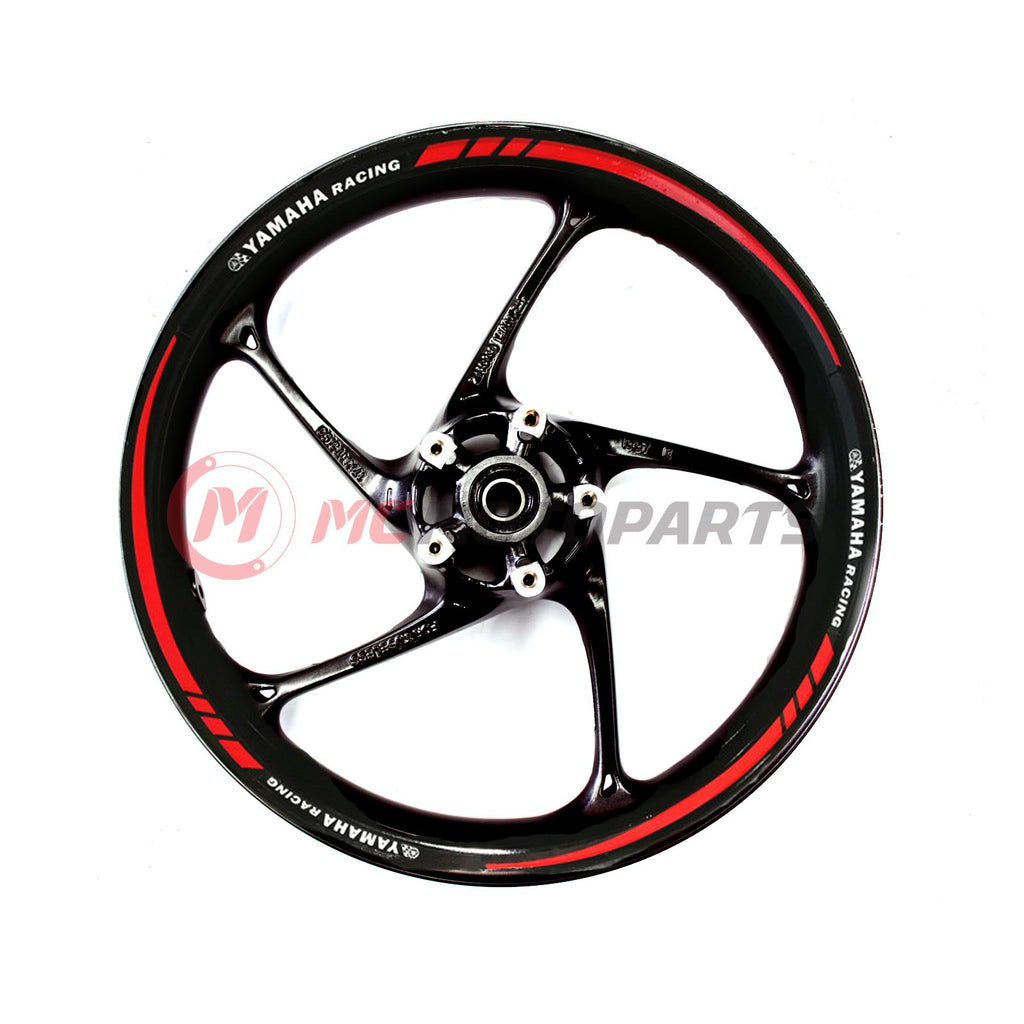 Fit Yamaha 17'' Wheel Rim Reflective Decal Stickers