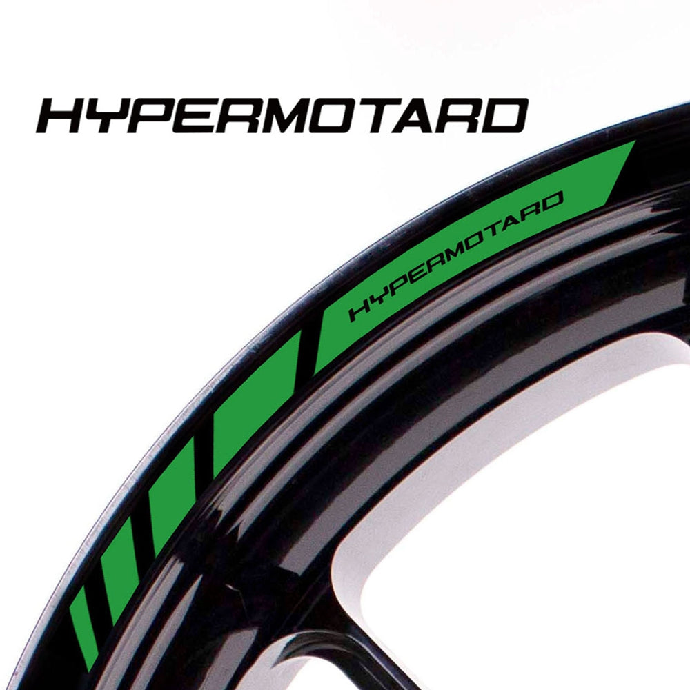 Fit Ducati HYPERMOTARD Logo Strips Wheel Rim Edge Sticker - MC Motoparts