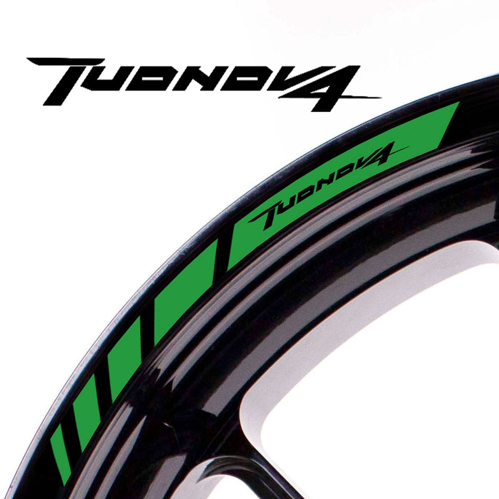 Fit Aprilia TUONO V4 Logo Strips Wheel Rim Edge Sticker - MC Motoparts