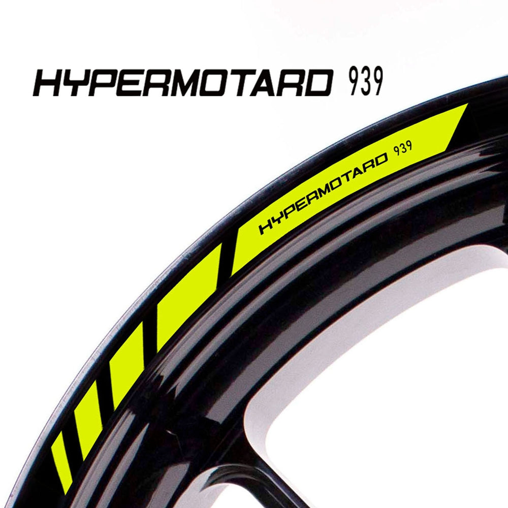 Fit Ducati HYPERMOTARD 939 Logo Strips Wheel Rim Edge Sticker - MC Motoparts