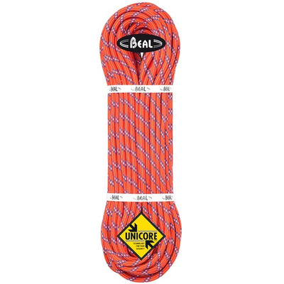 Beal Diablo 9,8mm enkelrep Unicore red, 50m, 60m, 70m