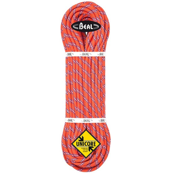 Beal Diablo 9,8mm enkelrep Unicore red, 50m, 60m, 70m - Adventure Lovers AB