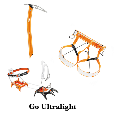 Petzl - Go Ultralight Paket för Ski Touring - Adventure Lovers AB