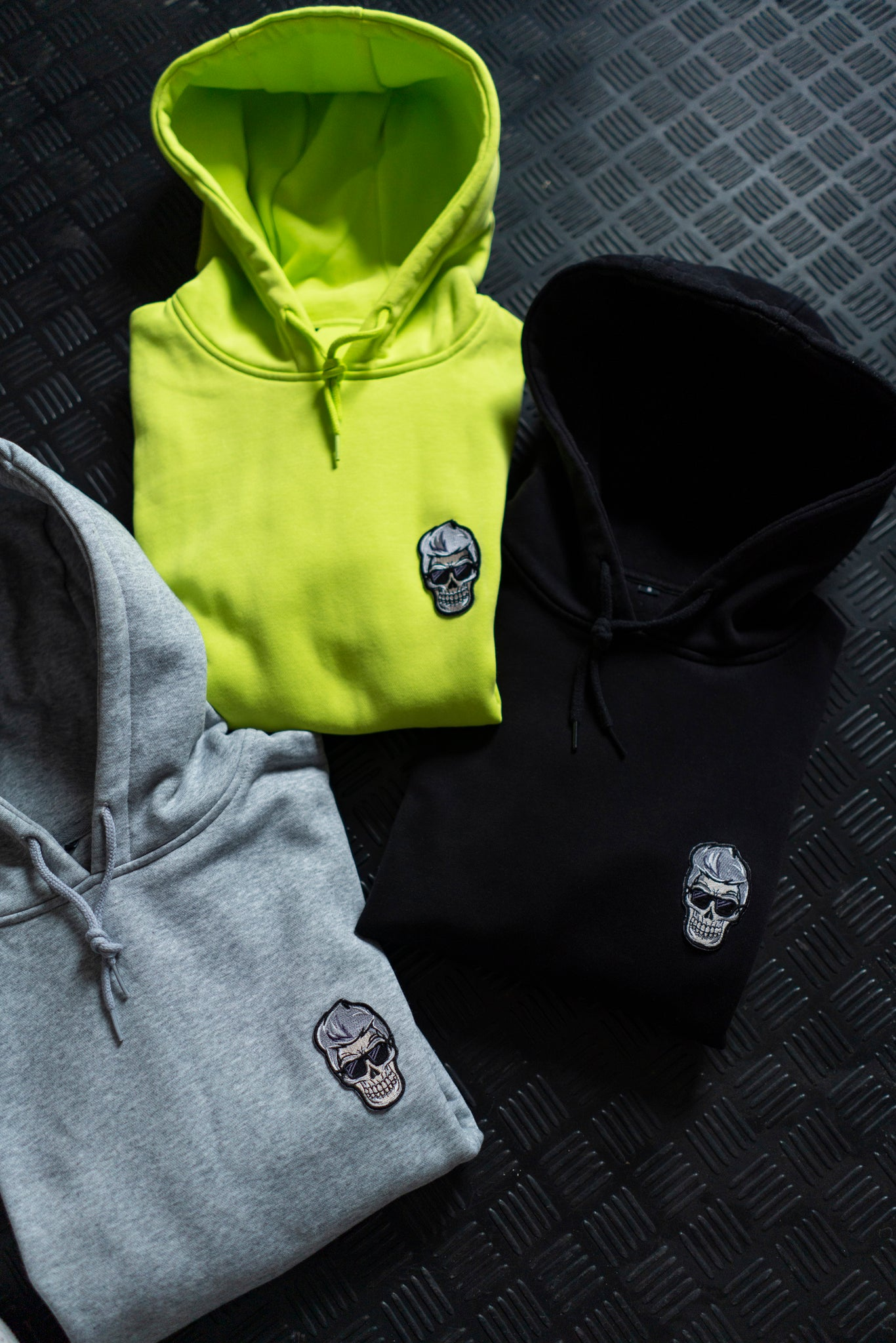 THE SIGNATURE GREY HOODIE
