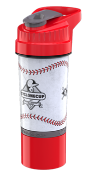 Baseball Cyclone Cup - 22oz Shaker Cup