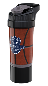 Basketball Cyclone Cup - 22oz Shaker Cup