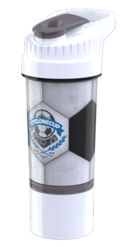 Soccer Cyclone Cup - 22oz Shaker Cup