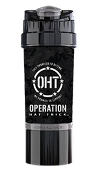 OHT Black Camo Logo Cyclone Cup - 22oz Shaker Cup