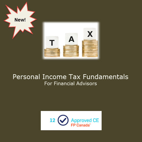 Personal Income Tax Fundamentals