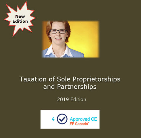 Taxation of Sole Proprietorships and Partnerships (2019 Edition)