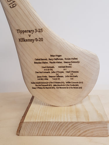All Ireland Champions 2019 Engraved Hurley