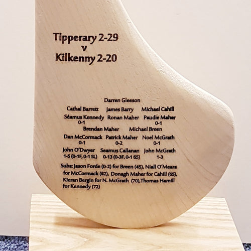 All Ireland Champions 2016 Engraved Hurley