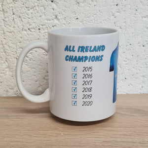 Dublin All Ireland Gaelic Football 2020 Mug - 6 in a row