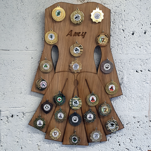 Medal Board - Irish Dancing Dress