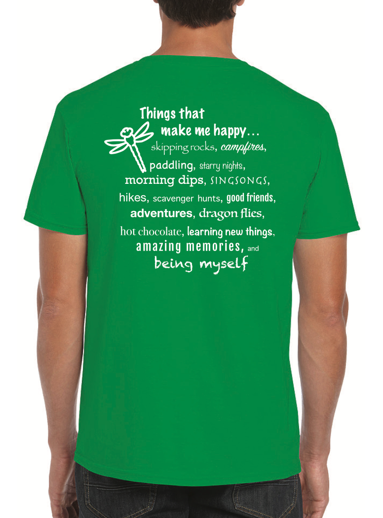 Things that make me Happy T-shirt | resolute clothing.com