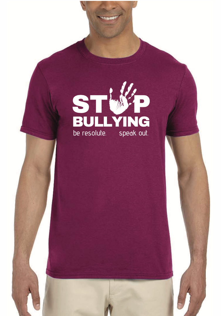 STOP BULLYING Classic Quality Tee - Resolute Clothing Co.