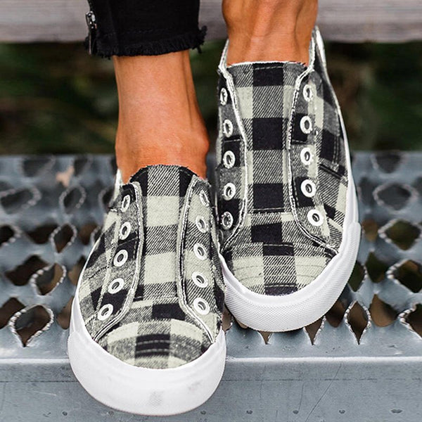 Women Casual Comfy Canvas Sneaker