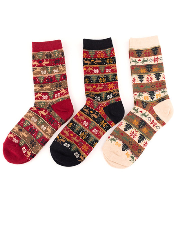 X'mas Warm Tribal Socks