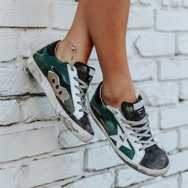 Green Daily Suede Sneakers