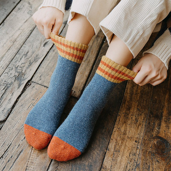 Comfortable Warm Soft Wool-Blend Thick Socks