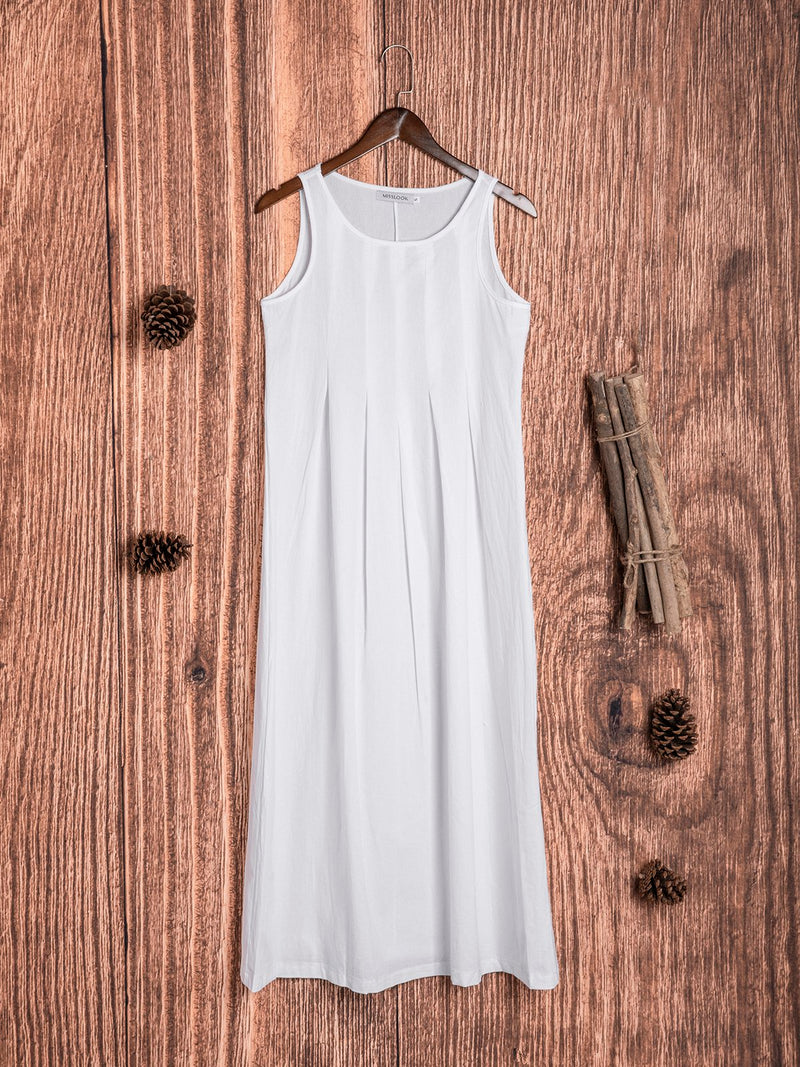 Casual Round Neck Dresses