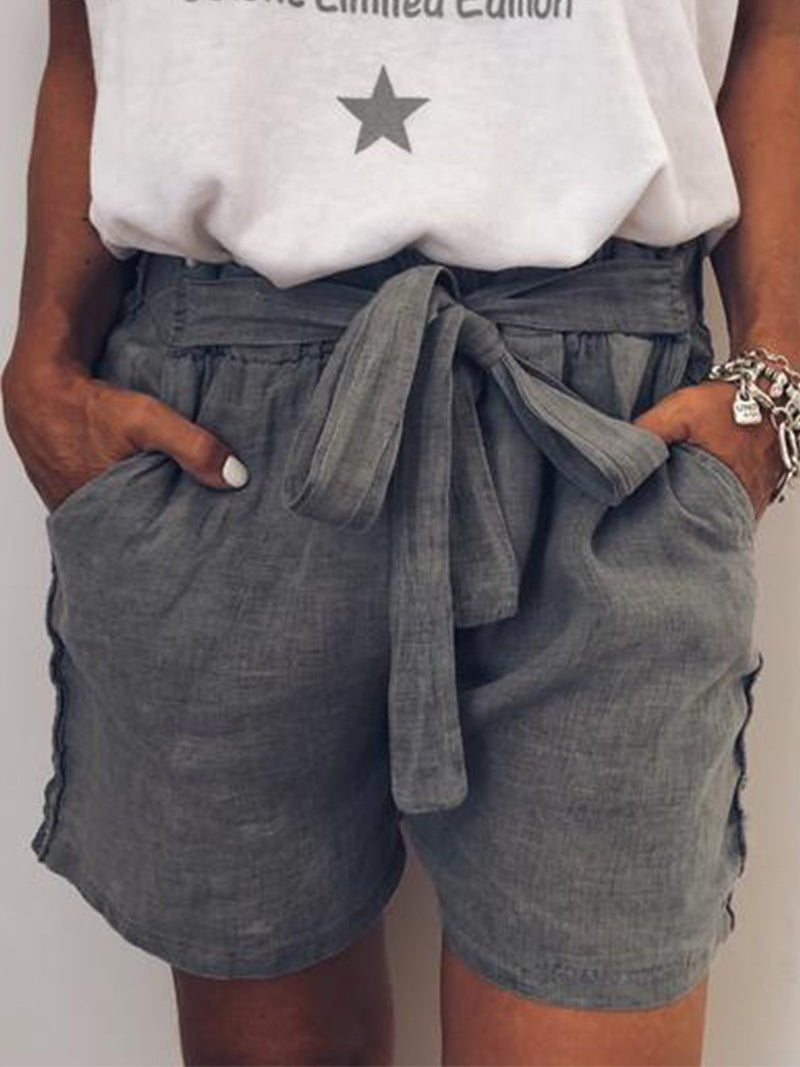 Women Summer Casual Loose Pants Shorts