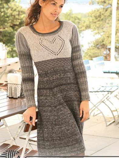 Cotton Long Sleeve Vintage O-Neck Dresses