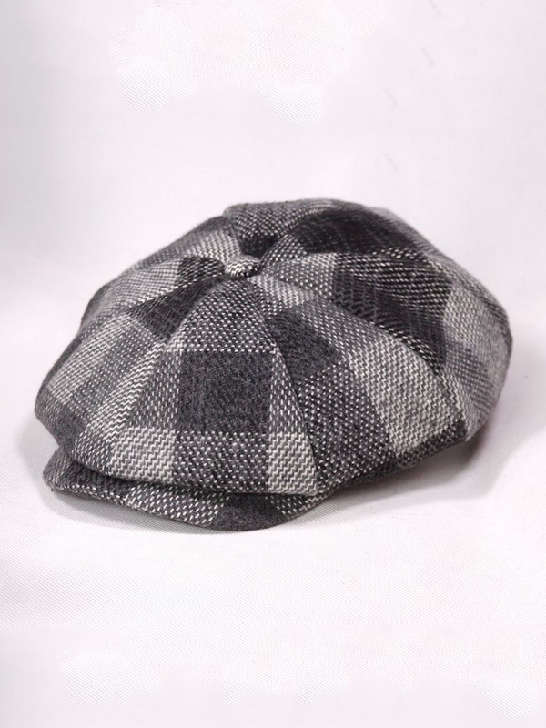 Vintage Plaid Hats