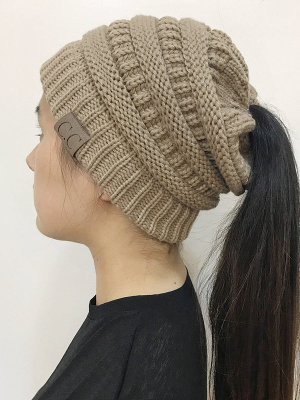 Casual Acrylic Plain Hat
