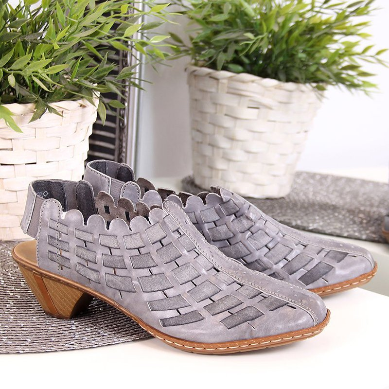 Summer Artificial Leather Shoes