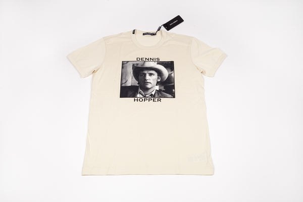 Dolce & Gabbana: Men's Short-Sleeve DH Portrait w/Hat Tee