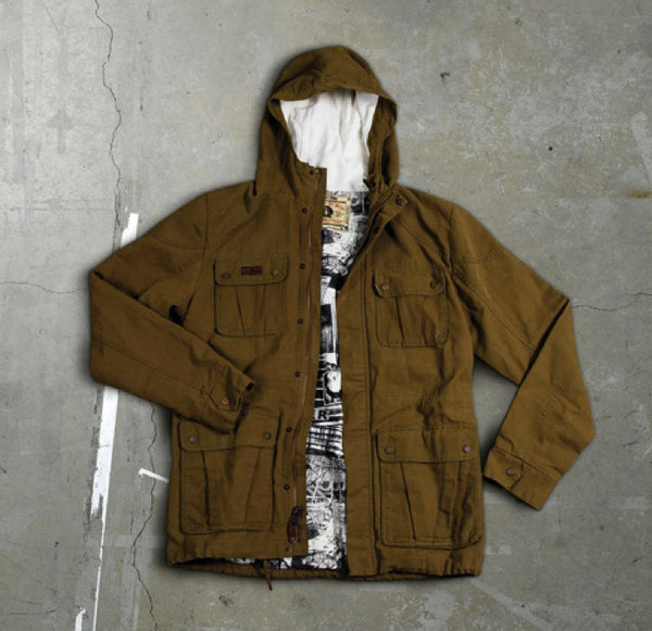 Vans Men's Desert Brown-Morocco Military Jacket