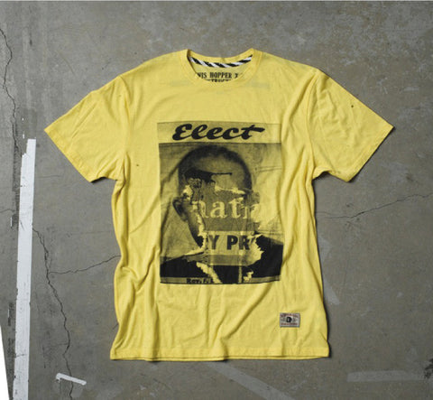 Vans: Men's Yellow Elect Tee