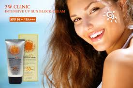 3W Clinic Intensive UV Sunblock Cream 70mL