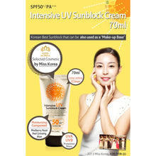 Load image into Gallery viewer, 3W Clinic Intensive UV Sunblock Cream 70mL