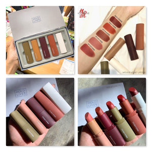 2 set Hold Live Pro Mousse Velvet Lipstick Set
