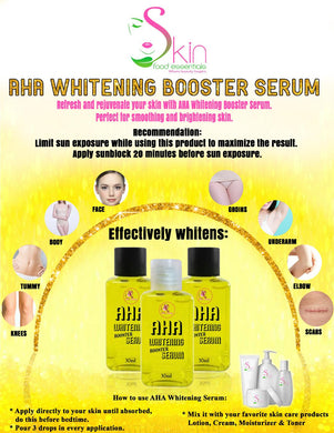 AHA Whitening Booster Serum 30ml