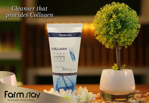 Farmstay Collagen Pure Cleansing Foam